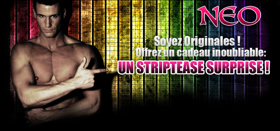 Neo Chippendale, Striptease