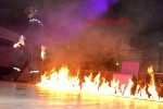 Neo stripteaseur en costume pompier à Poitiers