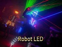 show spectacle robot led echassier