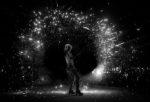 spectacle de feu avec pyrotechnie en Pays de la Loire