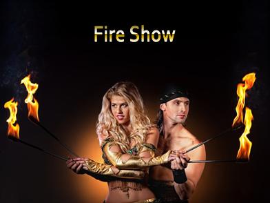 show spectacle cracheur de feux