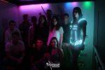 photo souvenir animation gogo costume led dans une discothèque sur Le Mans