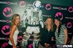robot led échassier pose dans une discothèque en Ille-et-Vilaine 35