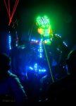 Robot Led Echassier - Performer Laser à Bourges 18