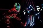 robot échassier en costume led rgb à Mont-de-Marsan 40