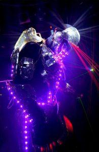 Robot Led Echassier Nord-Pas-de-Calais – Neo Performeur Laser